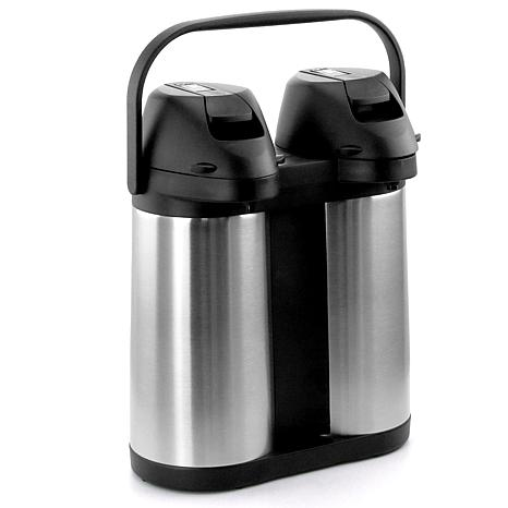 Megachef Dual 1 9l Stainless Steel Airpot Hot Water