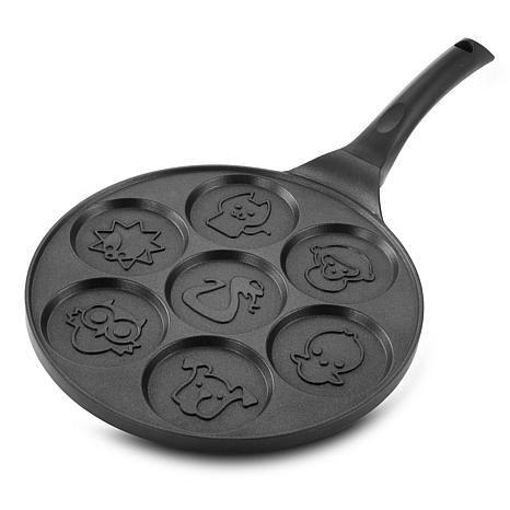 MegaChef Fun Animal Design 10.5 Inch  Nonstick Pancake Maker Pan wi...