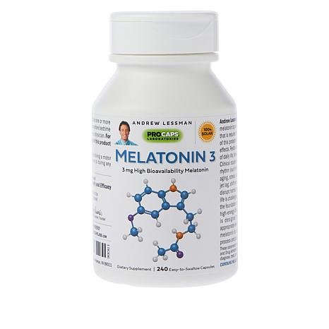 Melatonin-3 - 240 Capsules