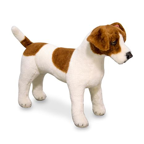 Melissa & Doug Jack Russell Terrier - Plush