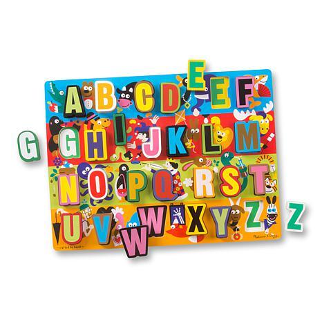 Melissa & Doug Jumbo ABC Chunky Puzzle