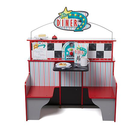 Melissa and Doug Let's Play Star Diner Restaurant Bundle