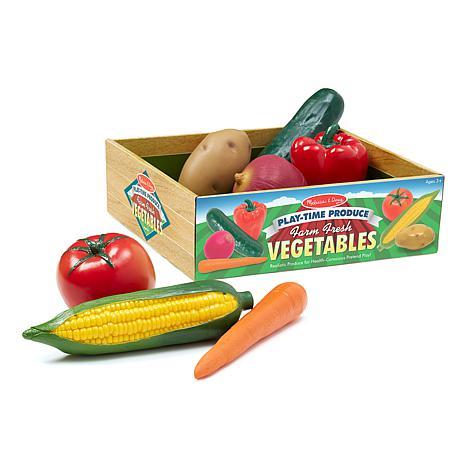 Melissa & Doug Play Time Produce Vegetables