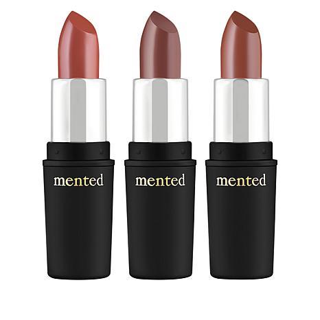 Mented 3-pack Semi-Matte Lipstick