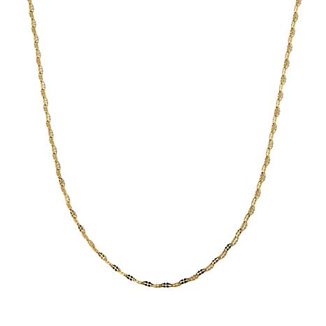 """Michael Anthony® 10K Gold 1.5mm 22"""" Double-Link Chain"""