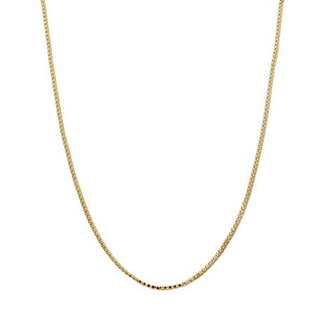 """Michael Anthony® 2.5mm 10K Gold 16"""" Birdcage Chain"""