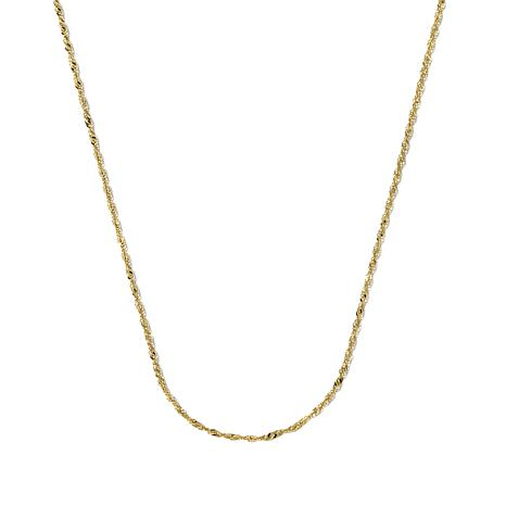 "Michael Anthony Jewelry® 10K 16"" Singapore Chain"