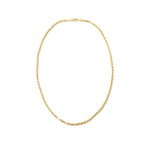 "Michael Anthony Jewelry® 10K 18"" Ultimate Rope Chain"
