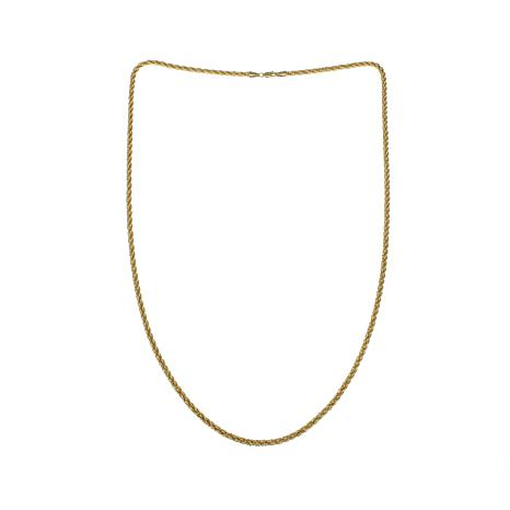 """Michael Anthony Jewelry® 10K 3.5mm Rope Chain - 30"""""""