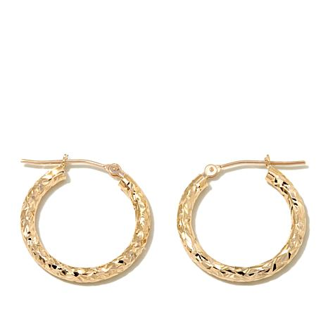 michael hoop earrings michael anthony jewelry 174 10k cut 20mm hoop 4820