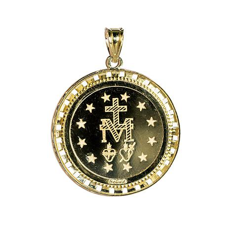 Michael anthony jewelry 10k miraculous mary digital hologram michael anthony jewelry 10k miraculous mary digital hologram pendant 8382432 hsn aloadofball Choice Image