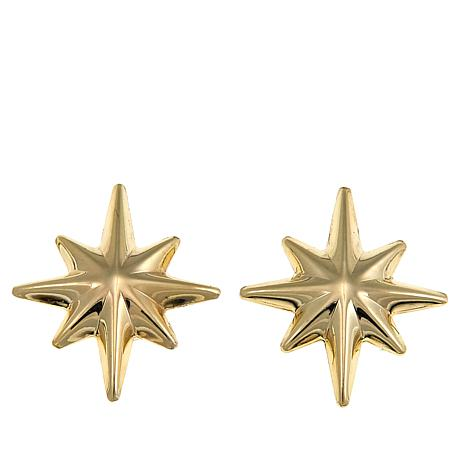 michael r resmode gold qlt stud star op tone earrings rose hei sharpen wid kors