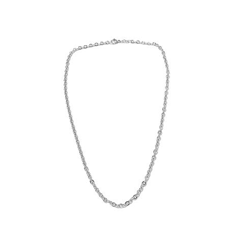 """Michael Anthony Jewelry® 24"""" Cable Chain"""