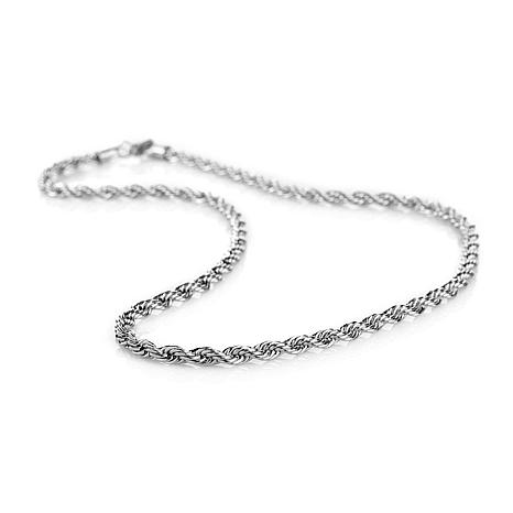 """Michael Anthony Jewelry® 6mm Rope Chain 26"""" Necklace"""