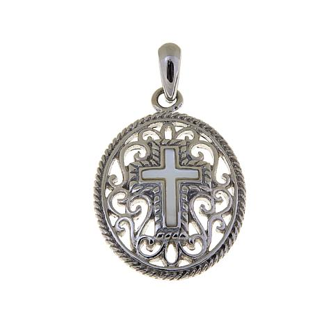 Michael Anthony Jewelry® Filigree Cross Pendant
