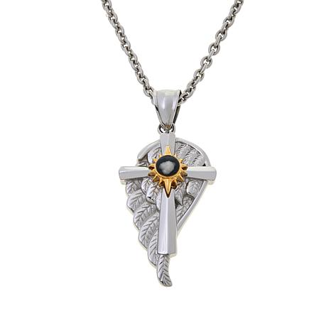 Michael Anthony Jewelry® Nativity Angel Wing Cross Pendant