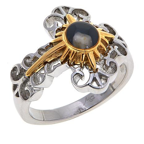 Michael Anthony Jewelry® Nativity Stone Cross Ring