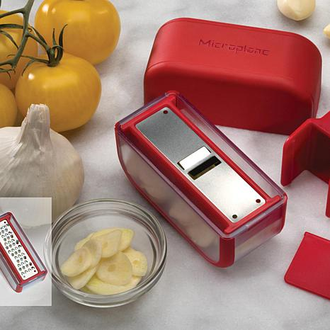 Microplane Garlic Slicing and Mincing Set