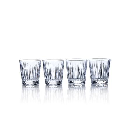 double old fashioned glasses williams sonoma revel set crate and barrel personalized