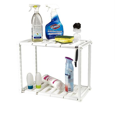Mind Reader 2-Tier Under-the-Sink Organizer