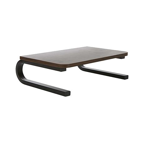 Mind Reader Wood Top Metal Monitor Stand & Riser