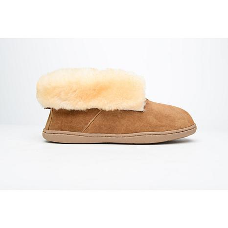 Minnetonka Sheepskin Ankle Bootie - Wide