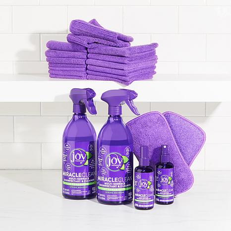 exclusive! MiracleClean™ Fast & Powerful 20-piece Disinfect & Clean Super  Set