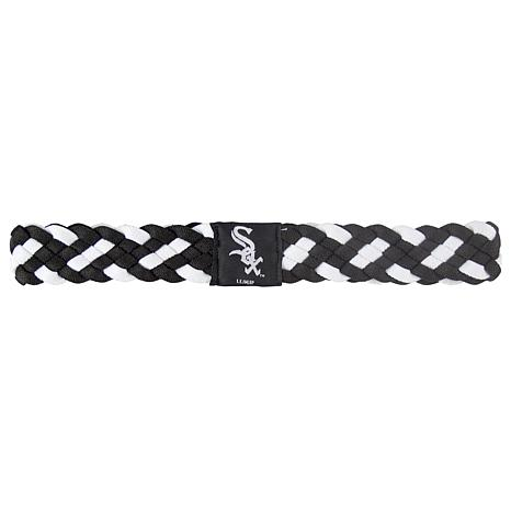 MLB Braided Headband - White Sox