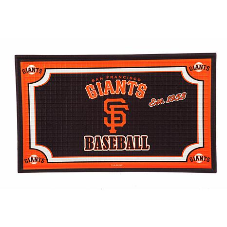 MLB Embossed Door Mat - San Francisco Giants