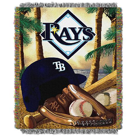 MLB Home Field Advantage Tapestry Throw - Rays