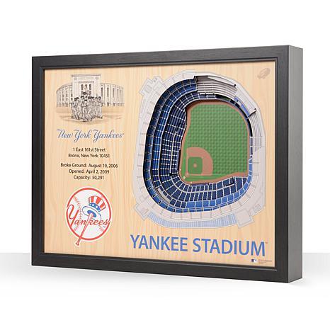 MLB New York Yankees StadiumViews 3-D Wall Art - Yankee Stadium