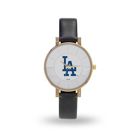 """MLB Sparo """"Lunar"""" Strap Watch - Dodgers"""