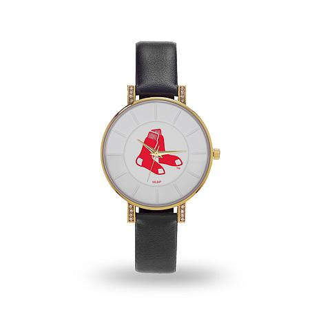 "MLB Sparo ""Lunar"" Strap Watch - Red Sox"