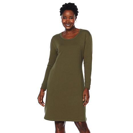 ModernSoul® Luxe French Terry Dress