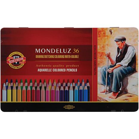 Mondeluz Aquarell Watercolor Pencils by Chartpak - 36pk