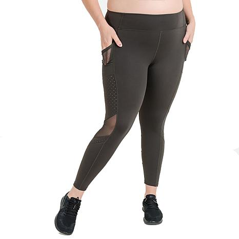 Mono B Dot Mesh High-Waist Leggings - Plus