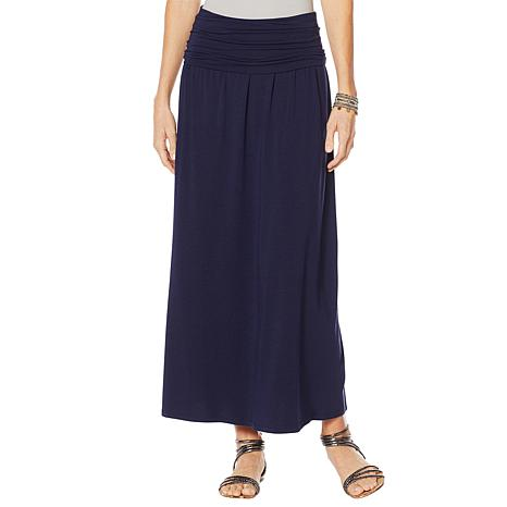 Motto Limitless Stretch Jersey Convertible Maxi Dress