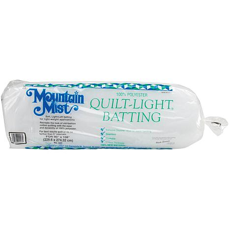 Mountain Mist Light Polyester Batting - Queen Size