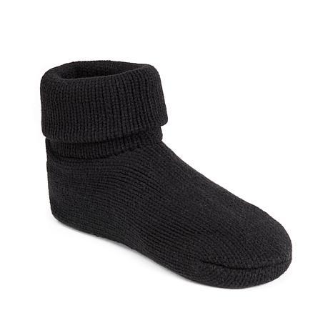 MUK LUKS Cuff Slipper Sock with Anti-Skid Sole