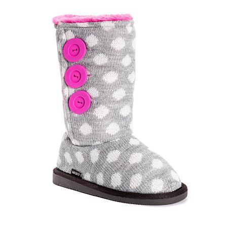 MUK LUKS Malena Knit Kid's Boot