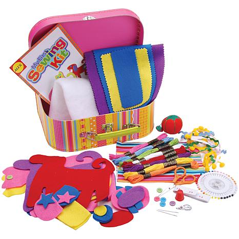My first sewing kit 2349319 hsn for Alex toys craft color a house children s kit