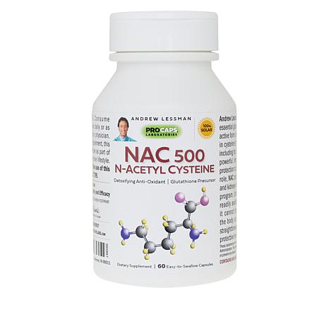 NAC-500 N-Acetyl Cysteine - 60 Capsules