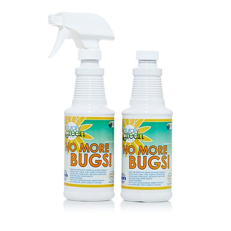 Naturally Green No More Bugs! Concentrate with Sponge 2-pack