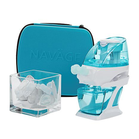Navage Nasal Care System with 18 SaltPods, Caddy & Storage Cube