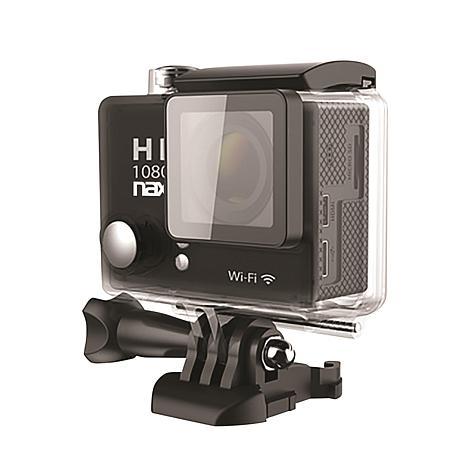 Naxa Waterproof HD 1080p Action Cam with WiFi