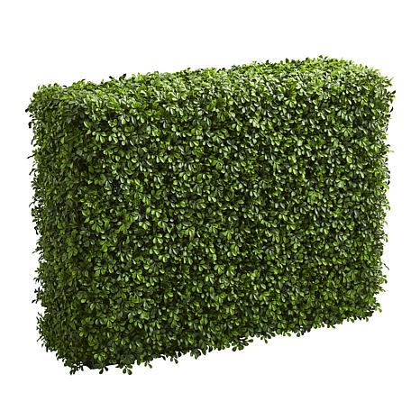 """Nearly Natural 39"""" Boxwood Artificial Hedge Indoor/Outdoor"""