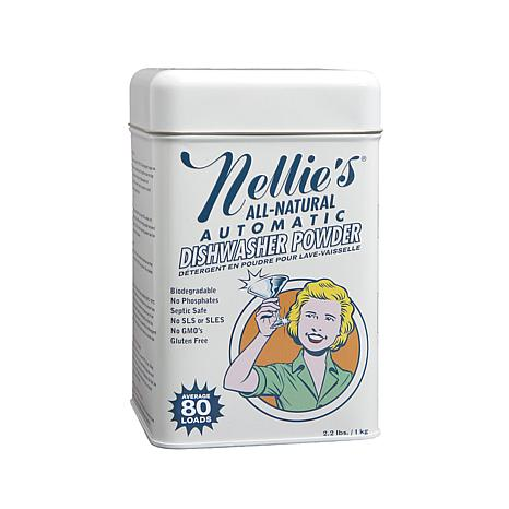 Nellie's All-Natural Dishwasher Powder