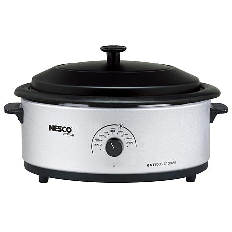 Nesco 6-Quart 750-Watt Porcelain Roaster