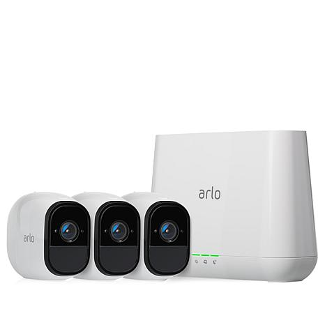 NETGEAR Arlo Pro Wire-Free HD 3-Camera Security System