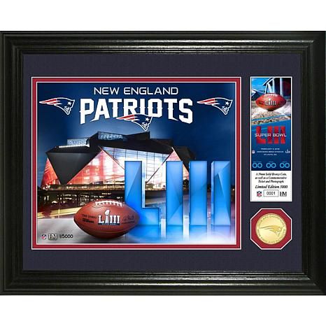 a5972776f New England Patriots 2018 AFC Champions Bronze Coin Photo Mint - 8969417